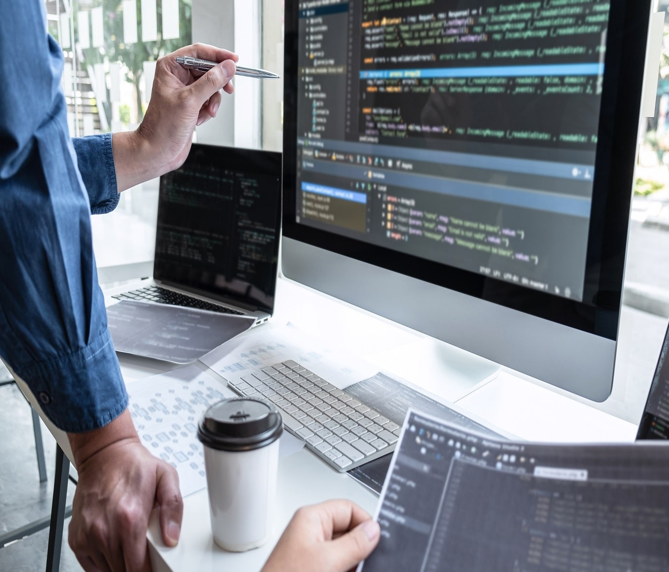 computer code developer